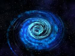 «Голодающая» черная дыра возвращает яркую галактику во тьму