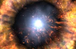 Необычная сверхяркая сверхновая, вспыхнувшая в «космический полдень»